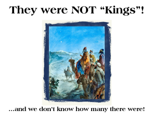 They were not Kings