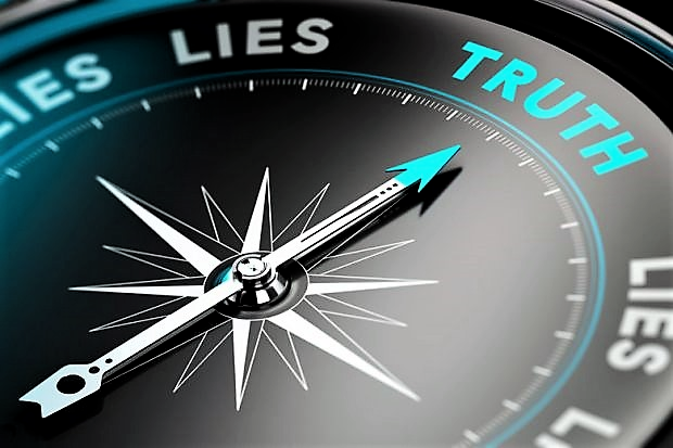 truth-and-lies-shown-on-moral-compass