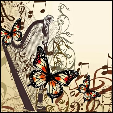 Harp Butterflies